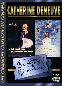 CATHERINE DENEUVE - 2 DVD  LES GRANDES GUEULES DU CINEMA