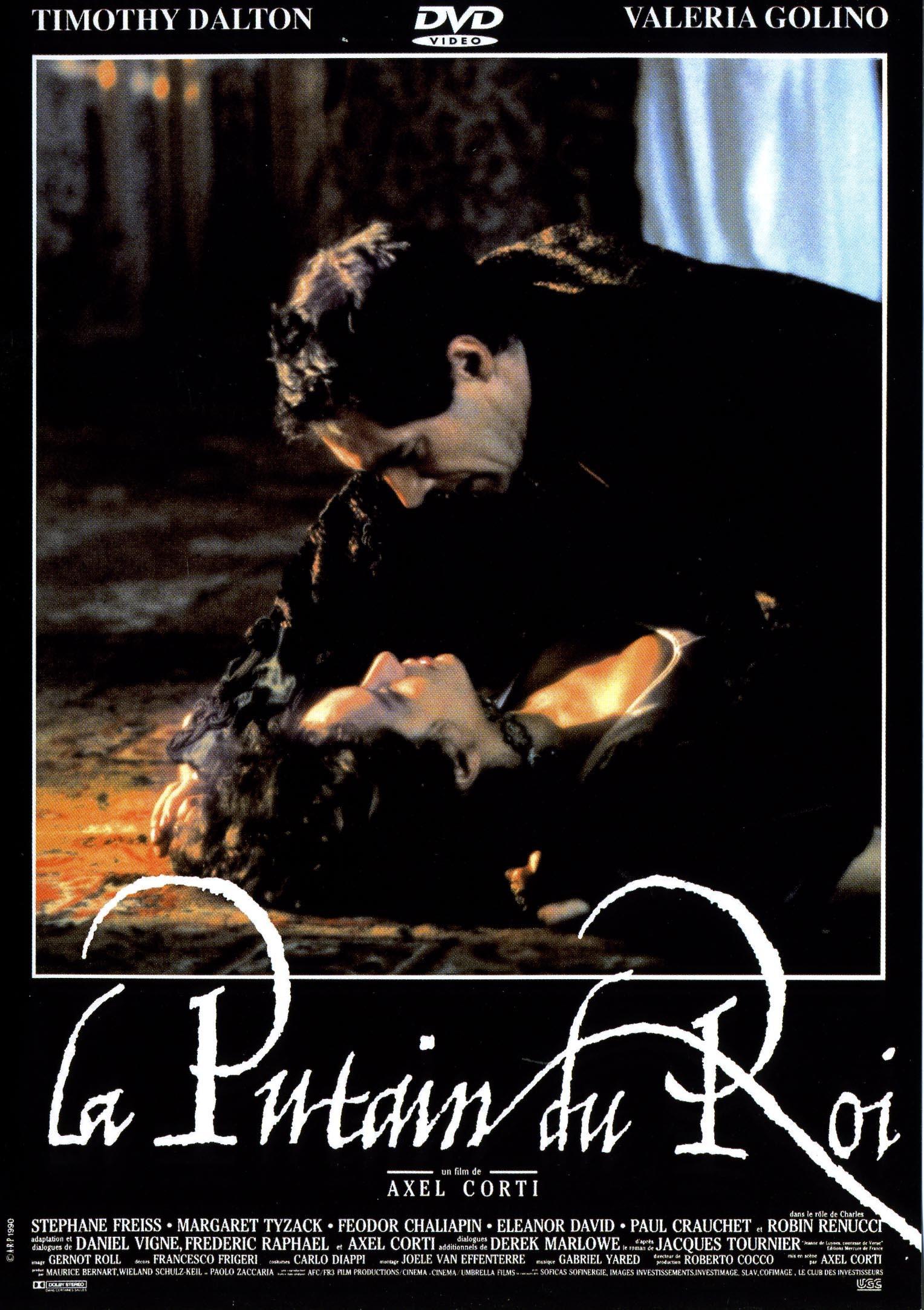 LA PUTAIN DU ROI - DVD