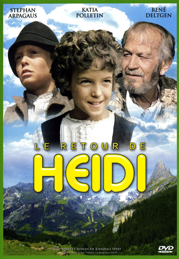 HEIDI - PARTIE 3 : LE RETOUR DE HEIDI - DVD