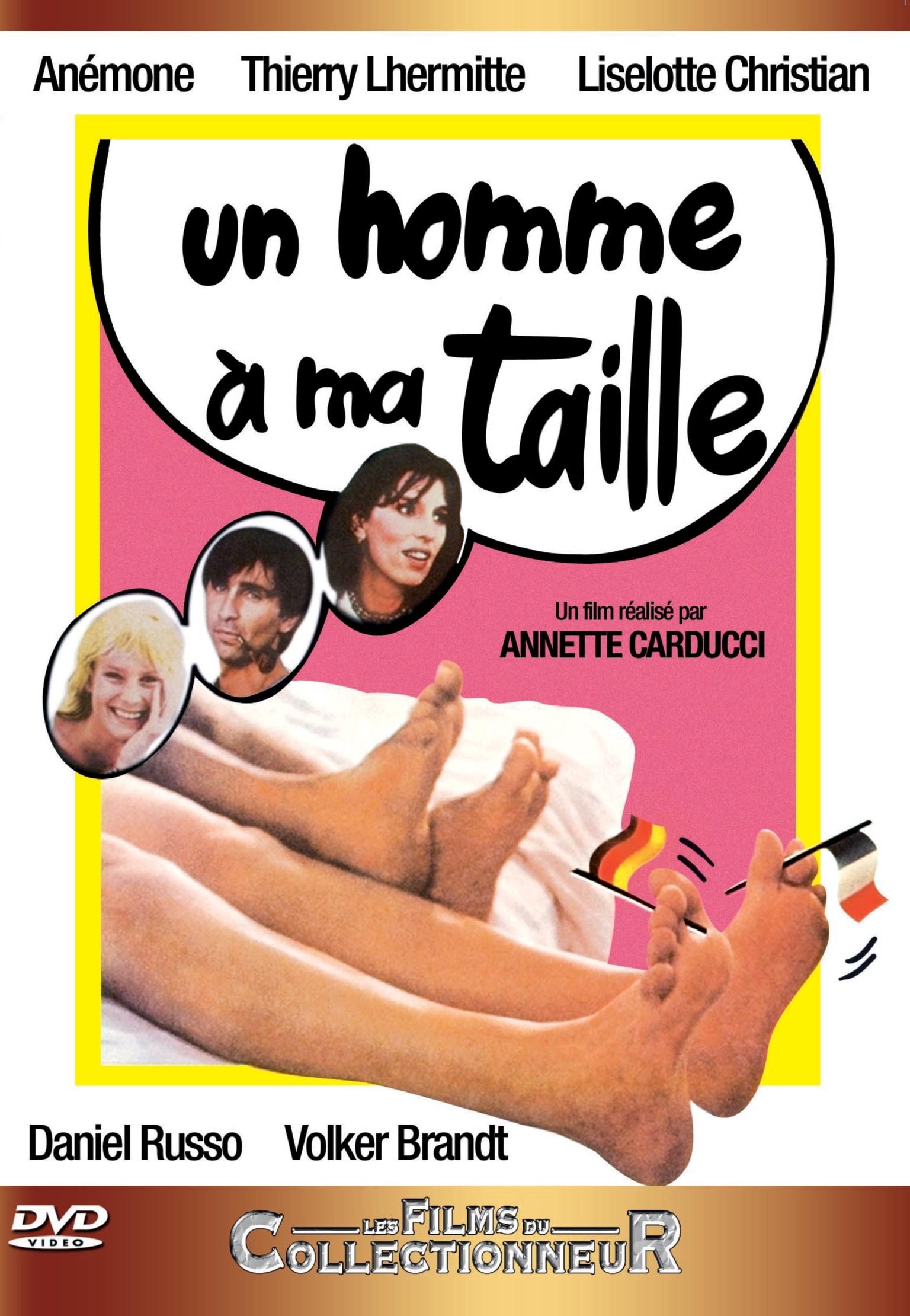 UN HOMME A MA TAILLE - DVD