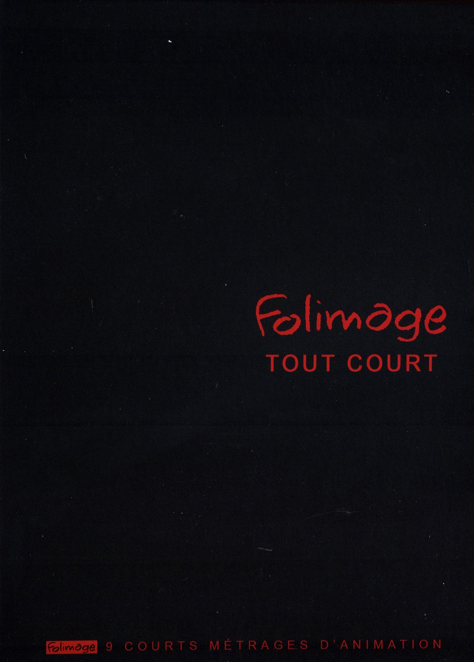 FOLIMAGE TOUT COURT - DVD