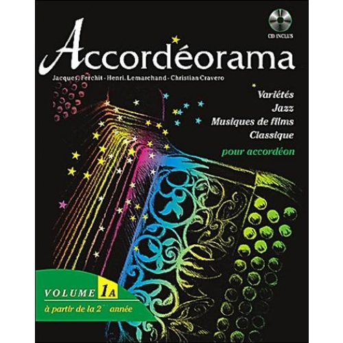 ACCORDEORAMA VOLUME 1A