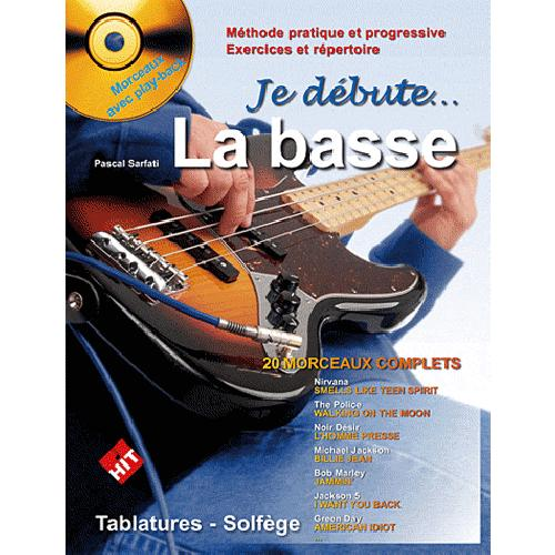 JE DEBUTE LA BASSE PLUS CD