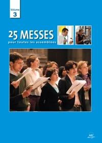 25 MESSES POUR TOUTES LES ASSEMBLEES VOL 3 PARTITIONS BLEU