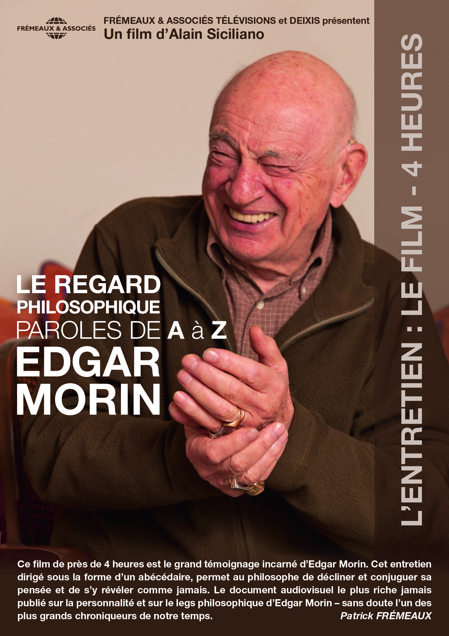 LE REGARD PHILOSOPHIQUE : PAROLES DE A A Z - UN FILM D ALAIN SICILIANO (DOUBLE DVD)
