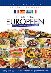 JE CUISINE EUROPEEN - COFFRET 4 DVD