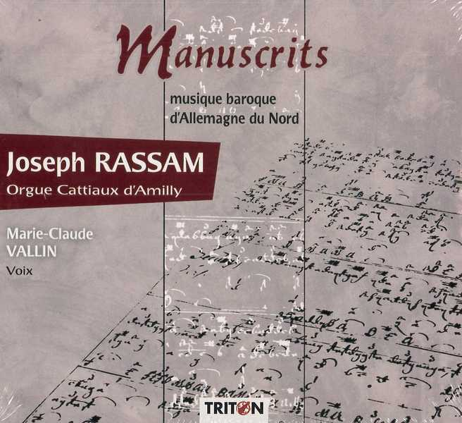 MANUSCRITS / J. RASSAM - CD