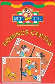 MICKEY FOR KIDS - DOMINOS CARTES