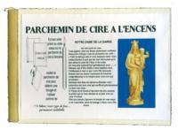 PARCHEMIN DE CIRE A L'ENCENS - NOTRE DAME DE LA GARDE