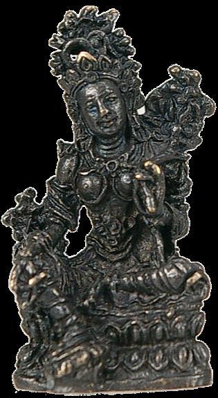 FIGURINE TARA VERTE - NEPAL - 3 CM