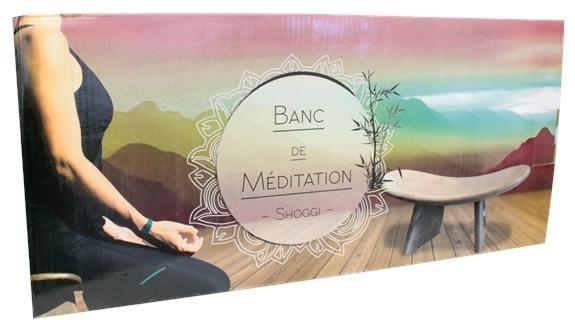 BANC DE MEDITATION SHOGGI - CLAIR