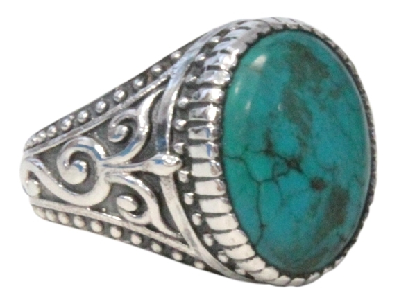 BAGUE TURQUOISE HOMME T61