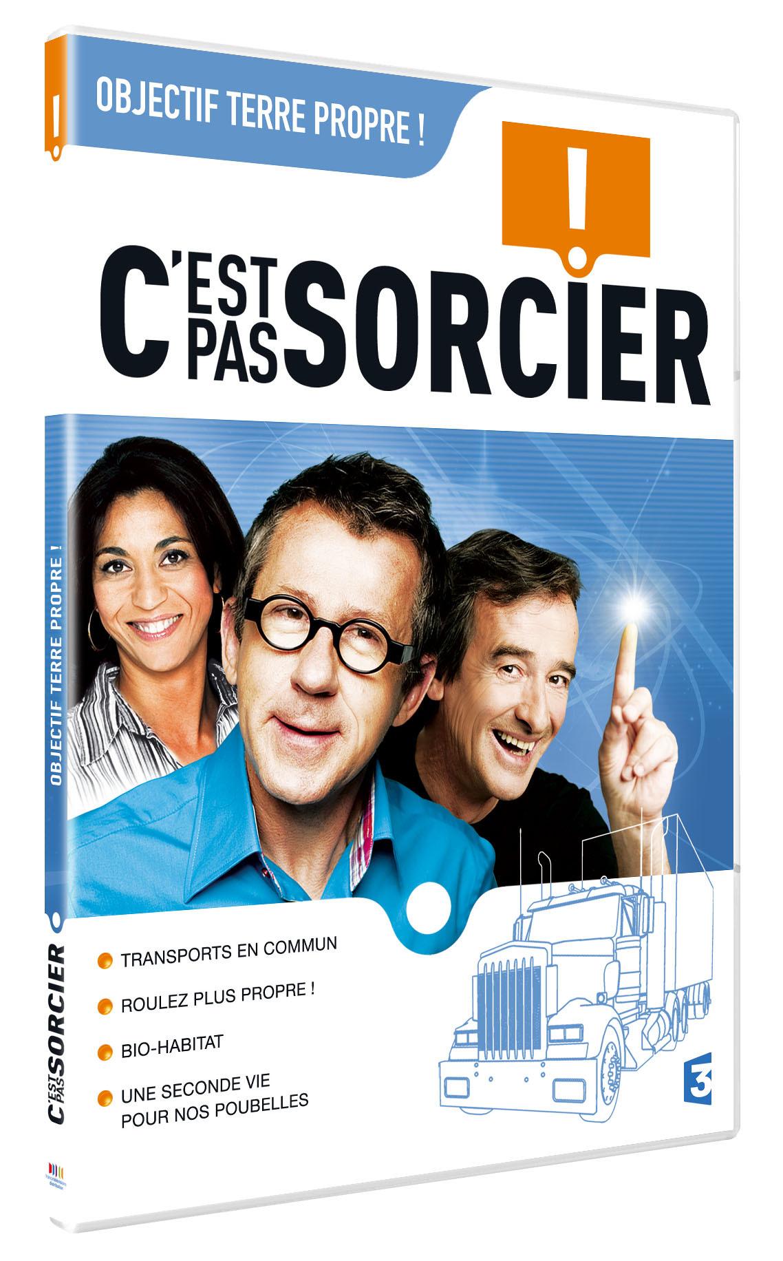C'EST PAS SORCIER - OBJECTIF TERRE - DVD