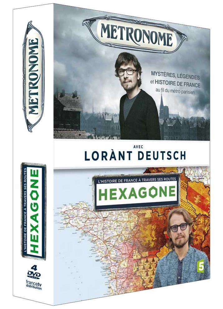 HEXAGONE + METRONOME - 4 DVD