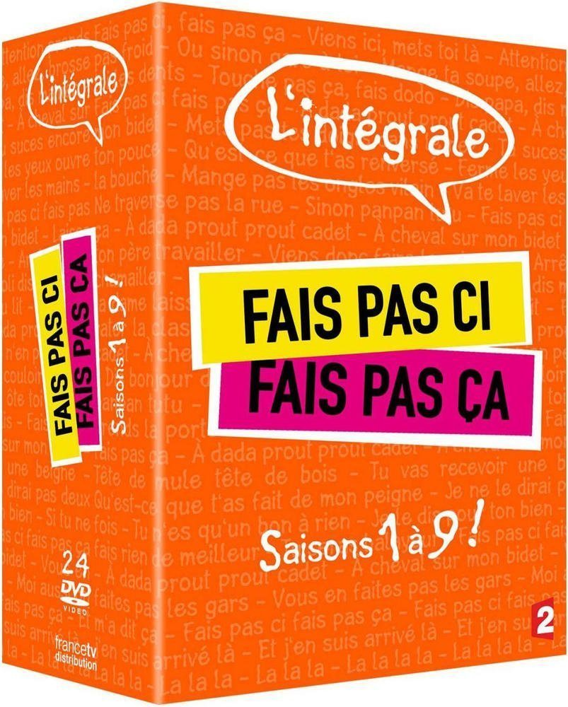 FAIS PAS CI FAIS PAS CA S1 A S9 - 24 DVD - EDITION LIMITEE