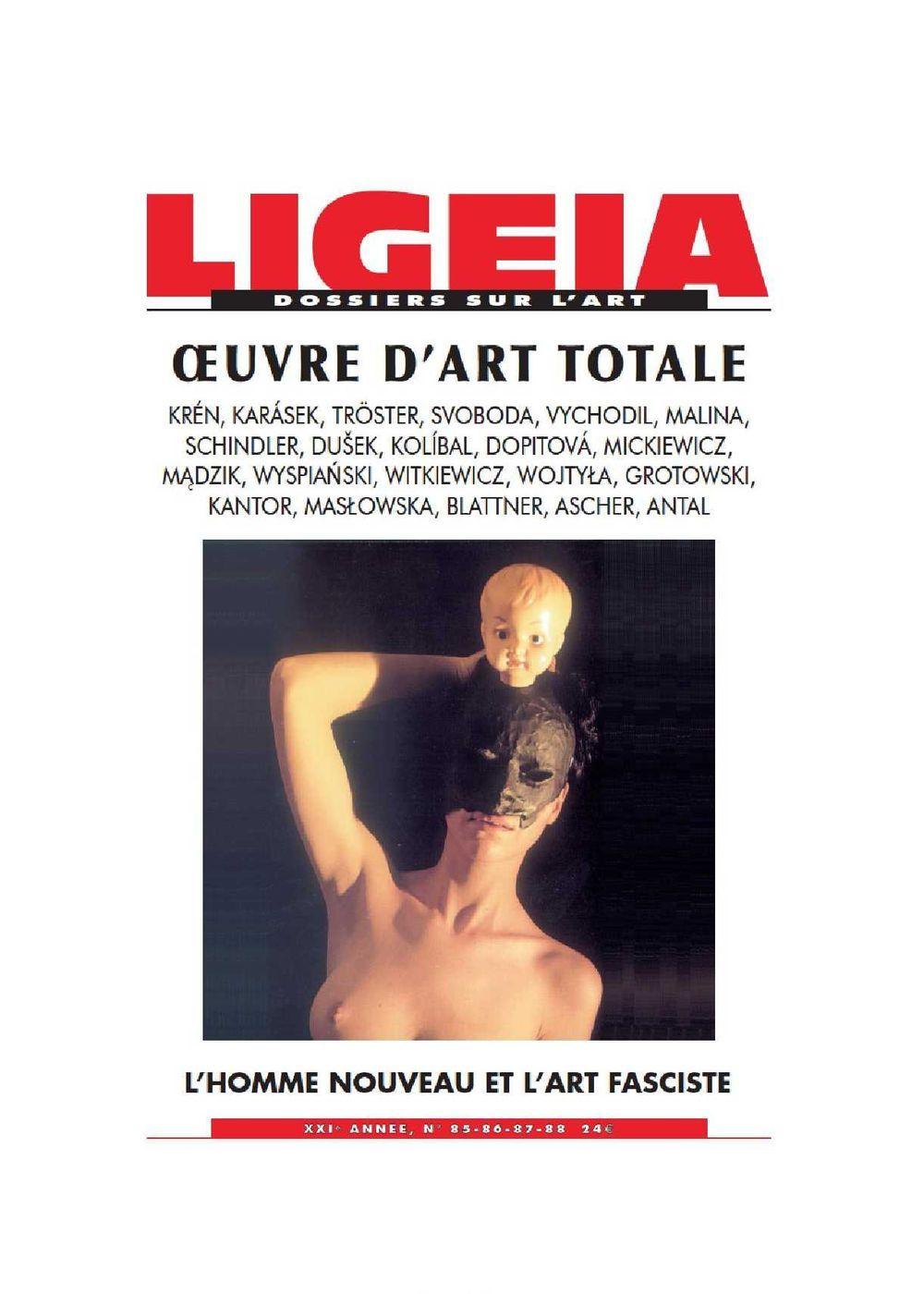 LIGEIA 0EUVRE ART TOTALE - LIGE85