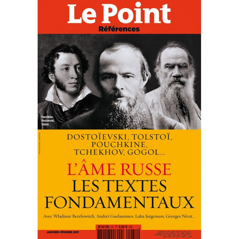 LE POINT REFERENCES N 31 - L' AME RUSSE