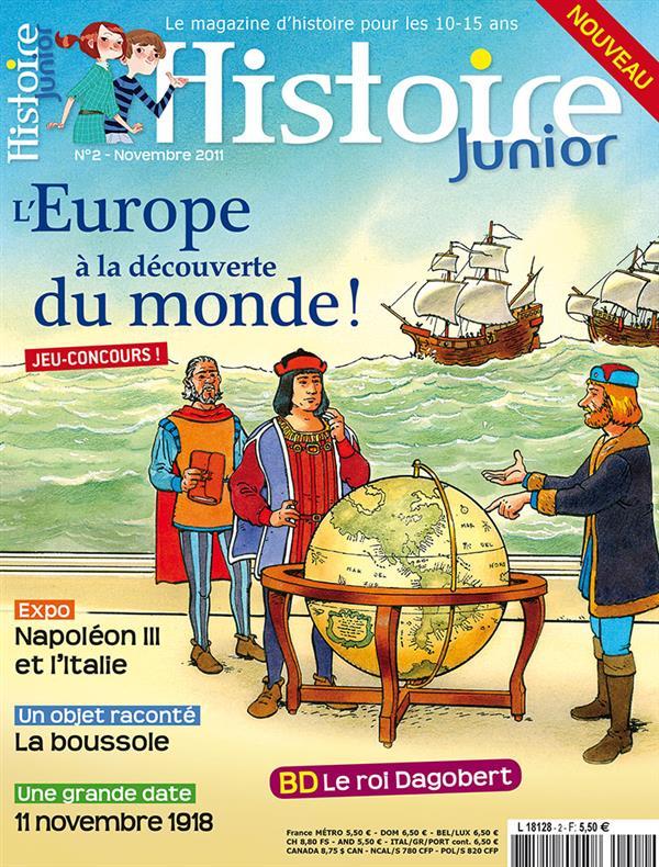 HISTOIRE JUNIOR EUROPE DECOUVR - HISJ2