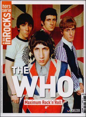 LES INROCKS HS N 73 THE WHO BRITISH ATTITUDE JUIN 2015