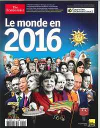 COURRIER INTERNATIONAL N 55 LE MONDE EN 2016 DECEMBRE 2015