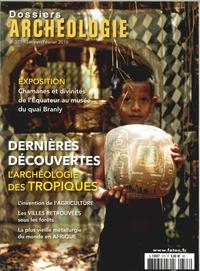 DOSSIERS D'ARCHEOLOGIE N 373 DERNIERES DECOUVERTES  JANV/FEV 2016