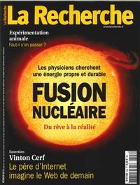 LA RECHERCHE N 508 FUSION NUCLEAIRE  FEVRIER 2016