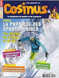 COSINUS N 189 LA PHYSIQUE DES SPORTS D HIVER  JANVIER 2017