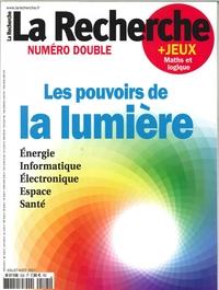 LA RECHERCHE N 525/526 LES POUVOIRS DE LA LUMIERES  JUILLET/AOUT 2017