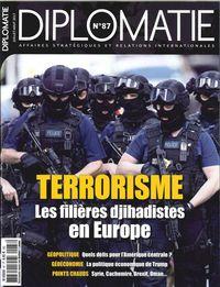 DIPLOMATIE N 87 TERRORISME  JUILLET/AOUT 2017