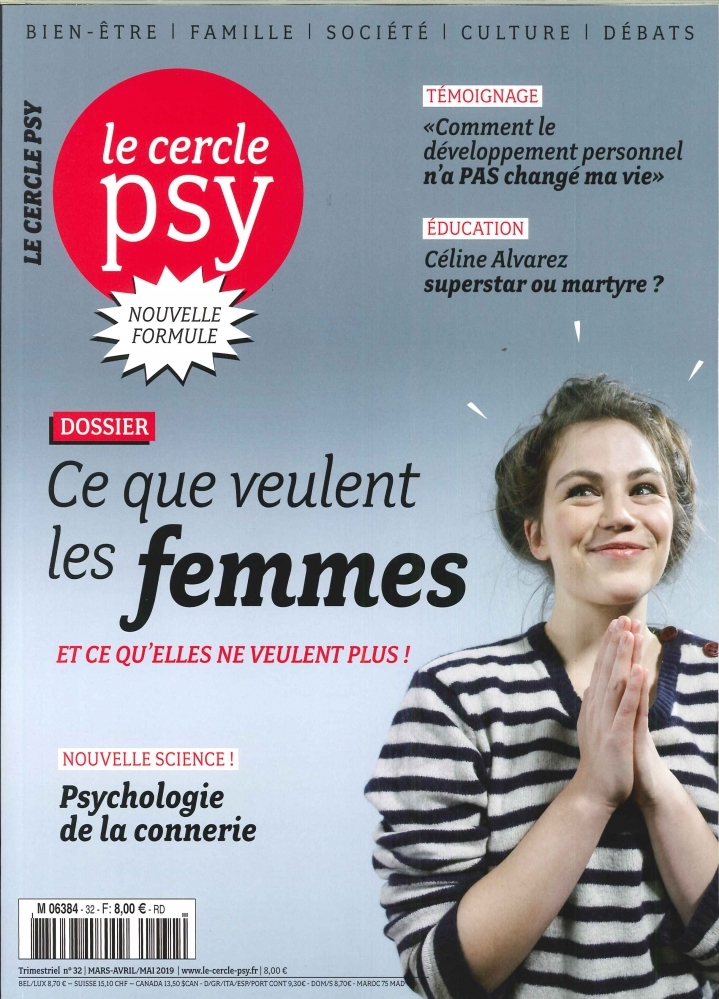 LE CERCLE PSY N 32 MARS/AVRIL/MAI - 2019