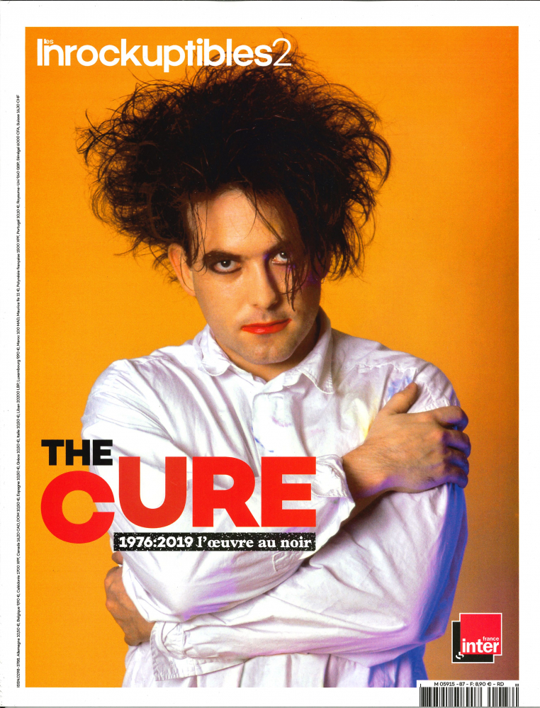 LES INROCKUPTIBLES2 HS N 87 THE CURE - AOUT 2019