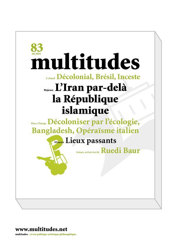 MULTITUDES N 83 - ETE  2021