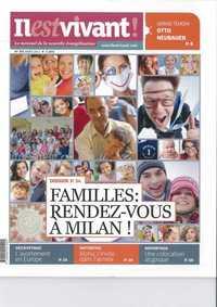 N 291 - IL EST VIVANT NOUVELLE FORMULE - MARS 2012 - FAMILLES : RENDEZ-VOUS A MILAN
