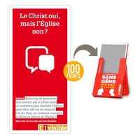 100 FICHES DEBAT  LE CHRIST OUI, MAIS L'EGLISE NON ?