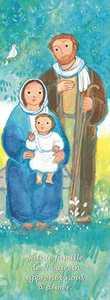 LOT DE 25 - SIGNET MAITE ROCHE SAINTE FAMILLE - SAINTE FAMILLE DE NAZARETH APPRENDS-NOUS A AIMER