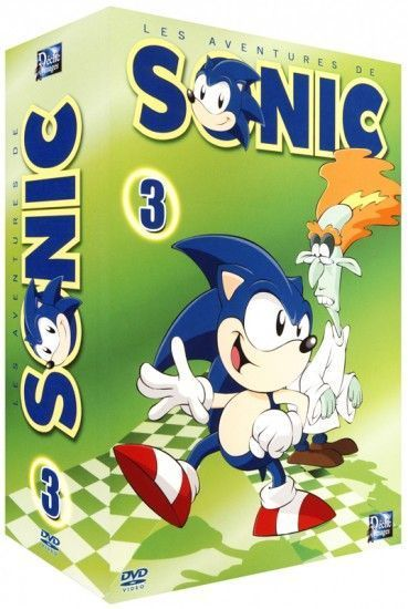 SONIC LES AVENTURES VOL 3/4 - DVD
