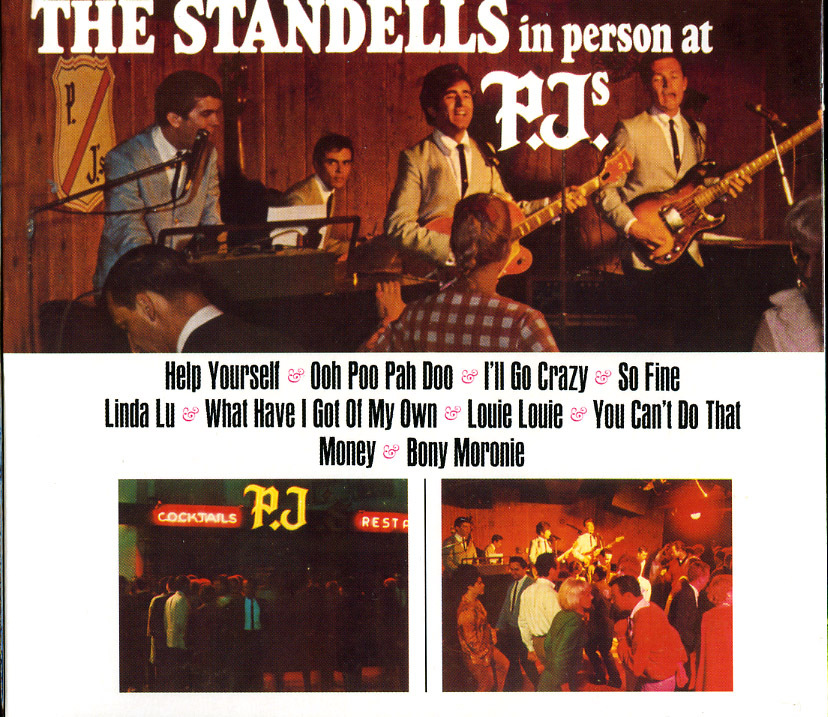 STANDELLS - CD IN PERSON AT PJ'S