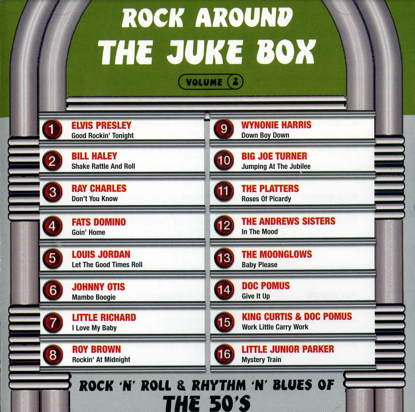 ROCK AROUND THE JUKE BOX 2 -CD