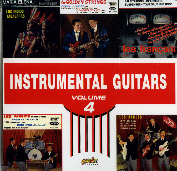 INSTRUMENTAL GUITARS VOL 4-CD