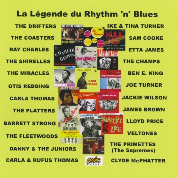 LEGENDE DU RYTHM N BLUES - CD