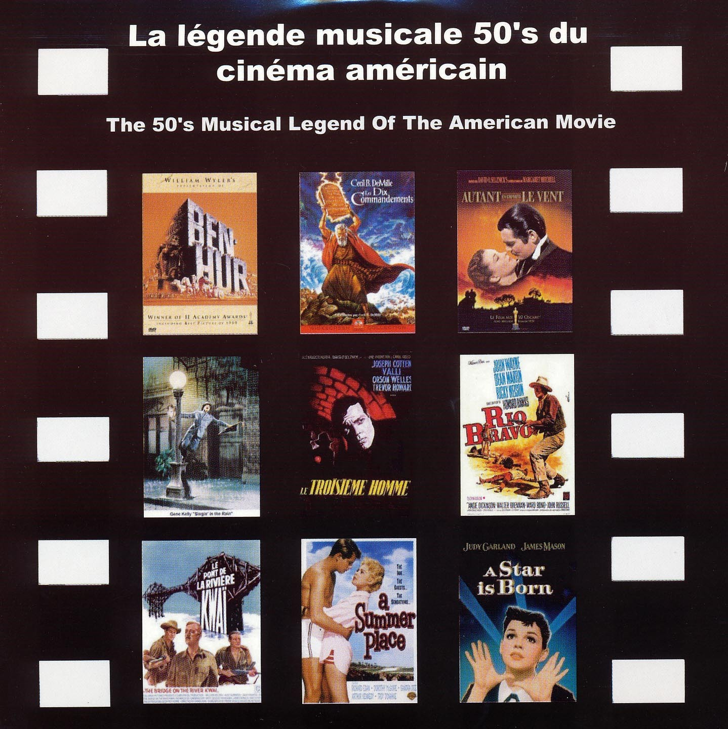 LEGENDE MUSICALE 50'S - CD  CINEMA AMERICAIN