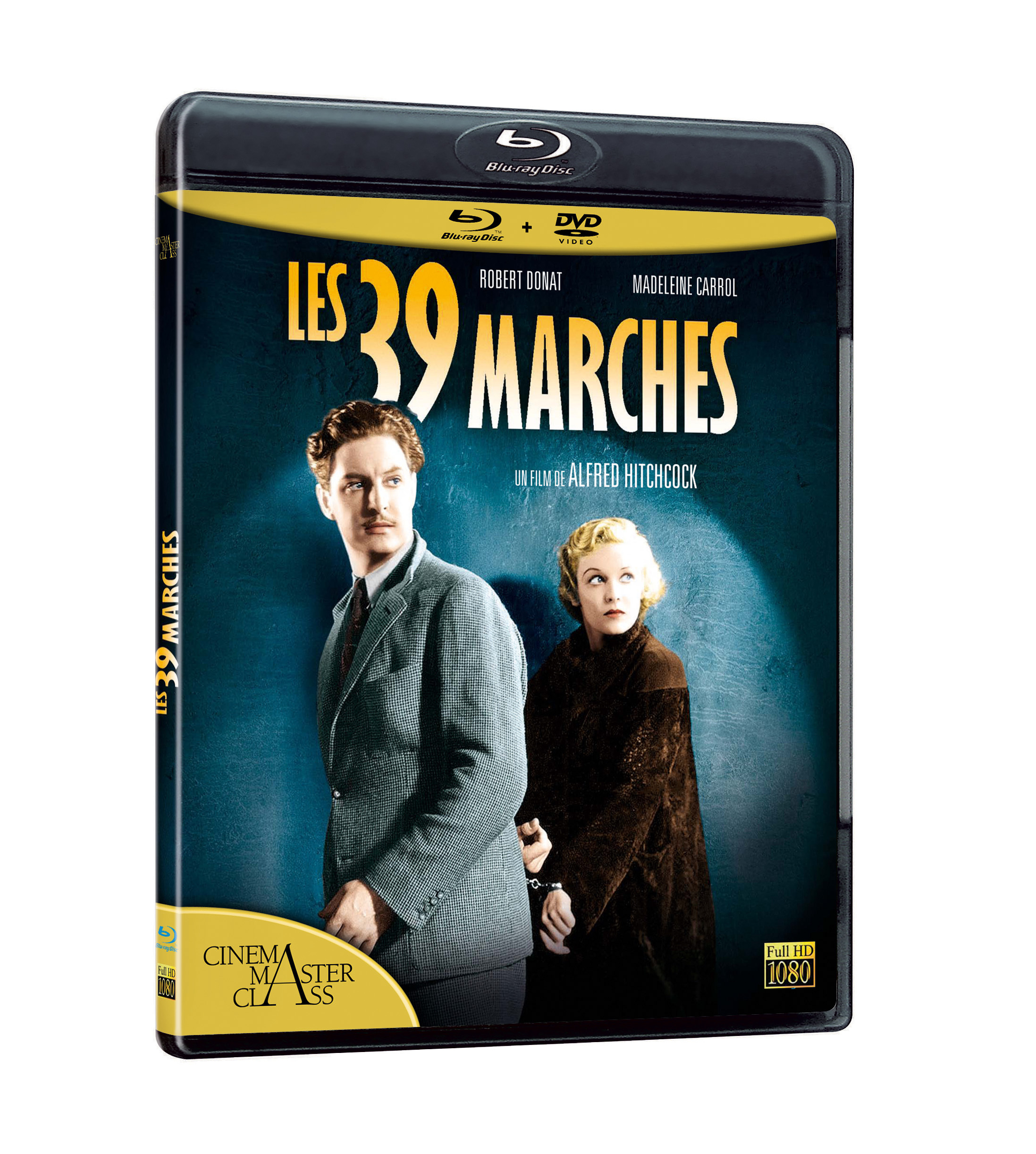 LES 39 MARCHES - COMBO BLU RAY + DVD