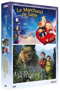 MARCHAND DE SABLE (LE) - OURS MONTAGNE (L') - 2 DVD + COLORIAGE