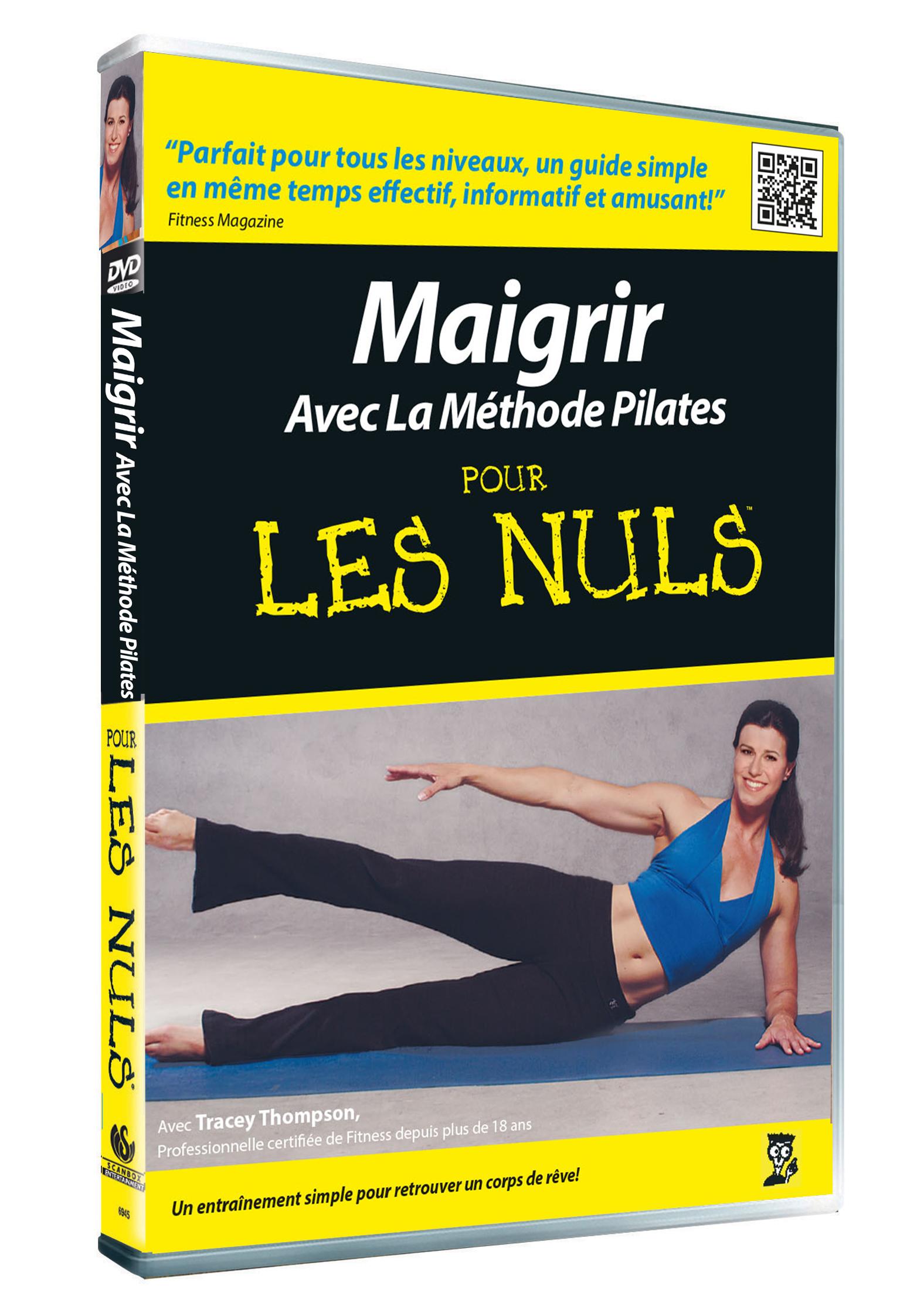 POUR LES NULS - MAIGRIR AVEC LA METHODE PILATES - DVD