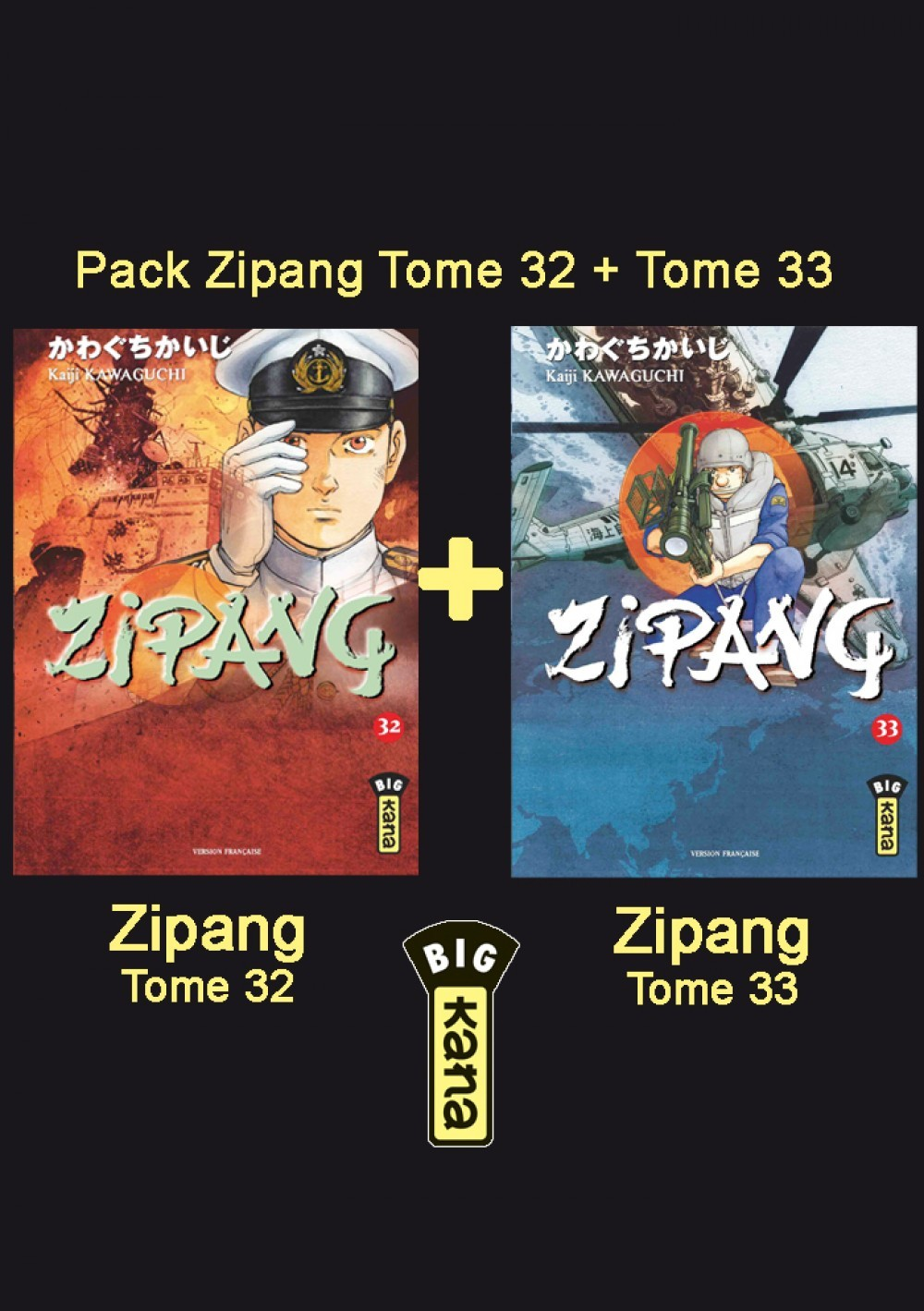 PACK FIDELITE ZIPANG T32+33