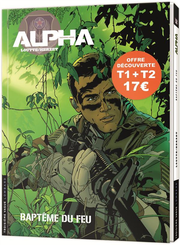 PACK ALPHA PREMIERES ARMES T1 & T2