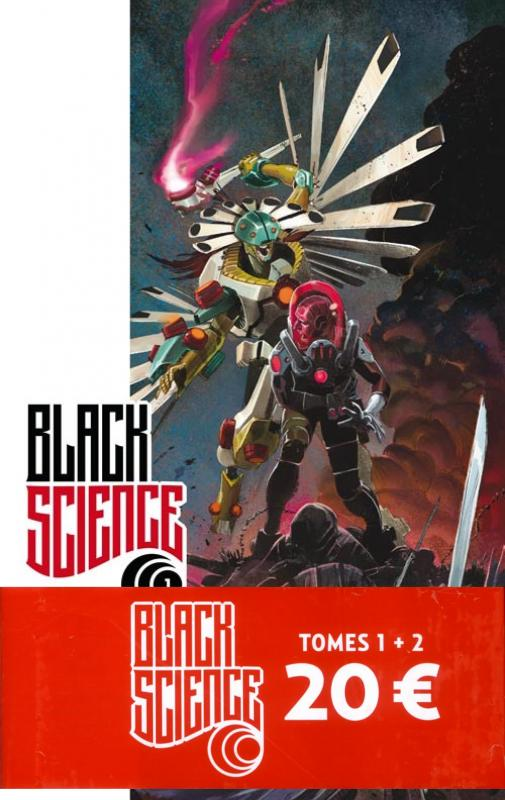 PACK BLACK SCIENCE T1+2=20EUROS