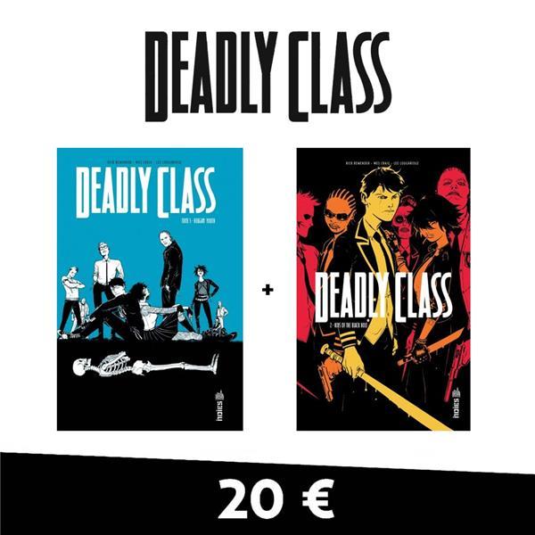 PACK T1 ET 2 DEADLY CLASS 20 NUROS