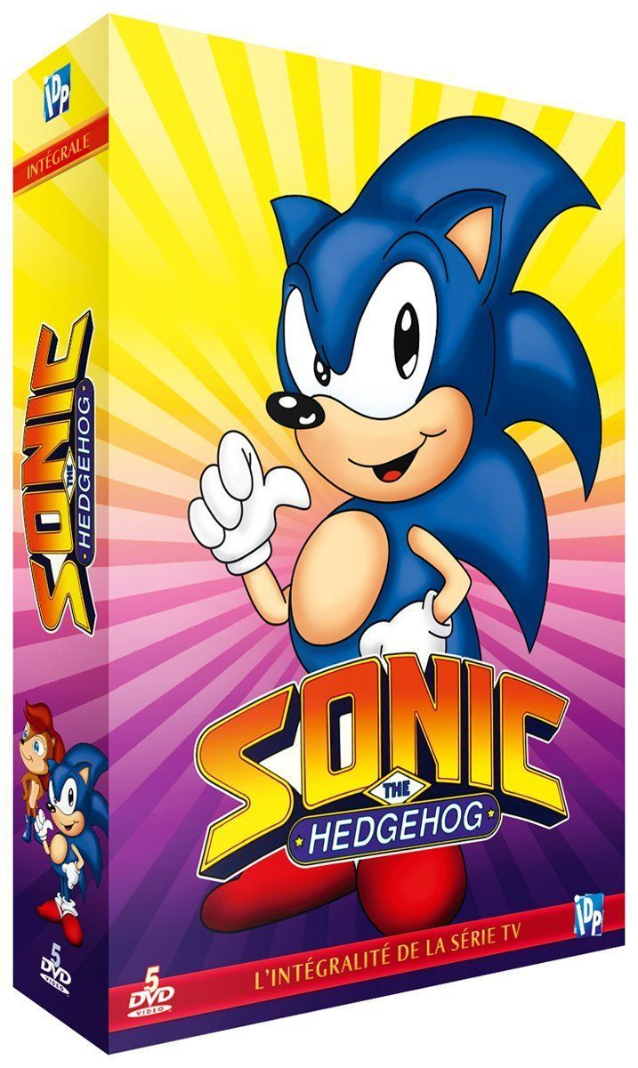SONIC THE HEDGEHOG L'INTEGRALE - DVD