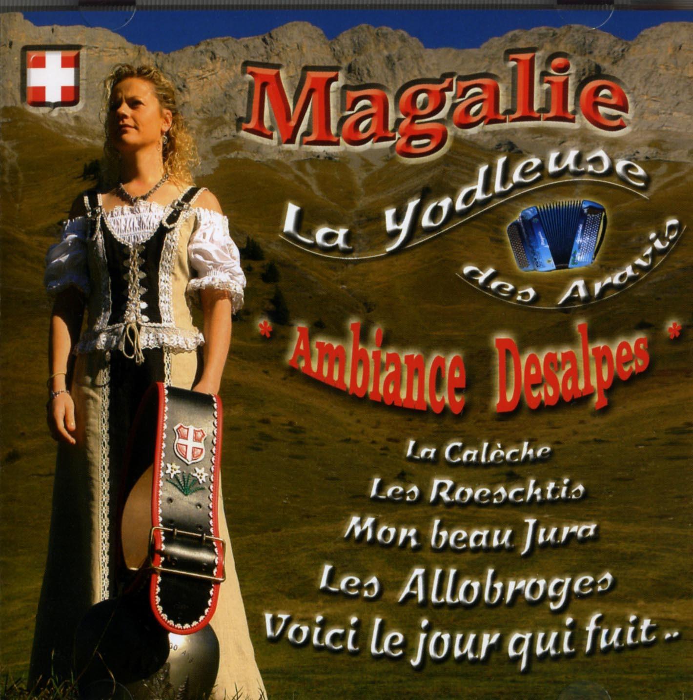 MAGALIE - CD AMBIANCE DES ALPES